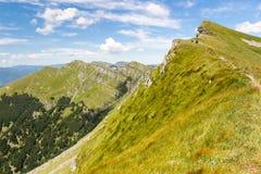 Góry Włochy: pasmo Appennini Zdjęcie Stock