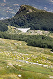 Góry Włochy: pasmo Appennini Obraz Royalty Free