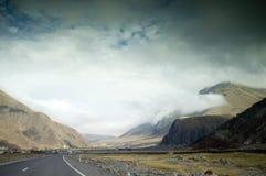 Góry w północy Gruzja fotografia stock