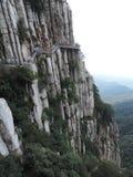 Góry w porcelanowej shaolin górze Obraz Royalty Free