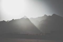 Góry w pustyni Obraz Stock