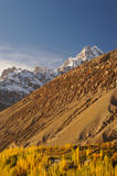 Góry w Sost, Północny Pakistan Zdjęcia Royalty Free
