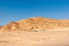 Góry w Synaj pustyni Obrazy Royalty Free