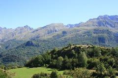 Góry w Tena dolinie, Pyrenees Panticosa Zdjęcia Royalty Free