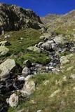 Góry w Tena dolinie, Pyrenees Panticosa Zdjęcia Stock