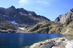 Góry w Tena dolinie, Pyrenees Panticosa Obraz Royalty Free
