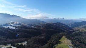 Góry w zimie zdjęcie wideo