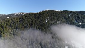 Góry w zimie zbiory wideo