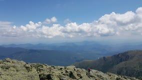Góry Waszyngton chmury Obraz Royalty Free