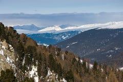 Góry Wiev Obraz Stock