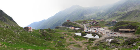 góry wioska Fotografia Royalty Free