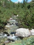 Góry woda Obrazy Stock