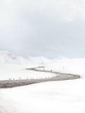 Góry wyginają się drogę Zdjęcie Stock