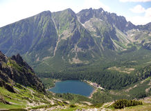 Góry - Wysoki Tatras Obrazy Stock