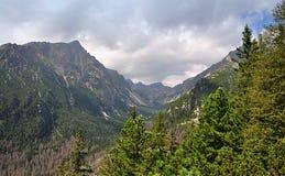 Góry Wysoki Tatras, Sistani, Europa Obraz Royalty Free