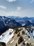 góry wysokogórskie Zdjęcia Stock
