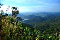 Góry zbliżać Phan Thiết Obraz Stock