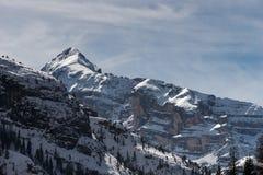 Góry zbliżają Cortina d'Ampezzo obrazy stock