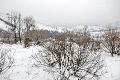 góry zima Obrazy Royalty Free