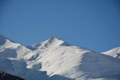 Góry zima Fotografia Royalty Free