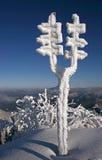 góry zima Zdjęcie Stock