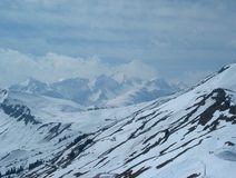 góry zima Obrazy Stock