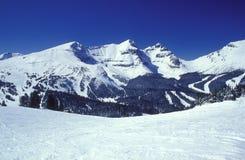 góry zimy. Zdjęcie Stock