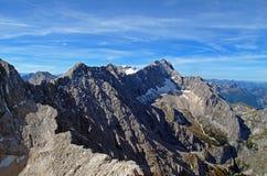 góry zugspitze Obraz Royalty Free