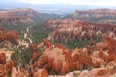 Górzysty Czerwonawy czarodziejski kominu Bryka jar zdjęcie royalty free