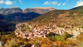 Gósol. Prepirineu. Country in the Cadi mountain Stock Photo