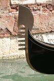 Gôndola de Veneza foto de stock