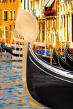 Gôndola em Veneza, Italy fotos de stock royalty free