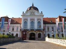 Gödöllői Királyi Kastély. Castle of Sissy in Gödöllő. The Royal Palace of Godollo is one of the most important, largest monuments of Stock Image