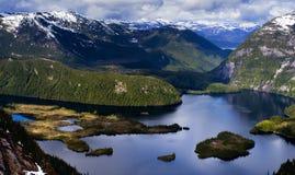 gömd lake Fotografering för Bildbyråer