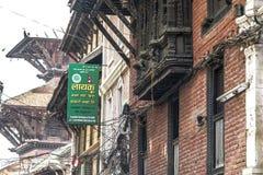 Gömda roofÂs Katmandu arkivbild