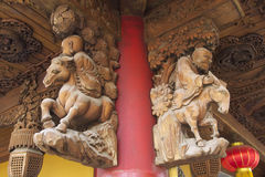 Gömda Shanghai: Jade Buddha Temple, ett mycket andligt ställe Arkivfoto