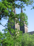 Gömda torn royaltyfri foto