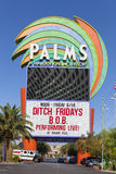 Gömma i handflatan hotellet undertecknar in Las Vegas, NV på Juni 14, 2013 Royaltyfria Bilder