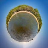 Gömma i handflatan lilla viken i Australien arkivfoton
