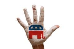 gömma i handflatan republikaner Royaltyfri Foto