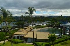 GÖMMA I HANDFLATAN & TIPS I HAWAII Fotografering för Bildbyråer