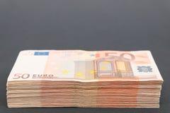 gömställe för euro 50 Royaltyfri Fotografi