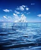Gömt fara- och global uppvärmningbegrepp royaltyfria foton