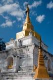 gömt nordligt tempel thailand Arkivfoto