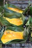 Omelett grillar Arkivfoton