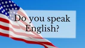gör engelska talar dig arkivfilmer