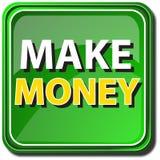 gör pengar Arkivbilder