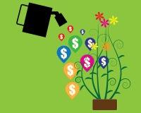 Gör pengar för design Arkivbild