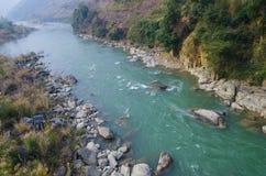 gör ren floden Arkivfoto