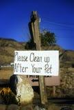 gör ren husdjuret upp ditt Fotografering för Bildbyråer